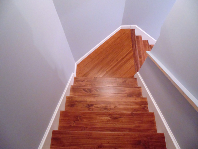 Wooden Staircase Installation Hartford